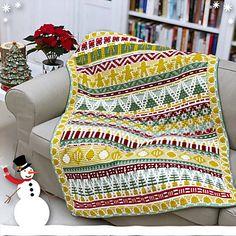 Crochet Christmas Decorations, Holiday Crochet, Christmas Crafts, Cute Crochet, Knit Crochet, Crochet Hooks, Mosaic Patterns, Crochet Patterns, Crochet Ideas
