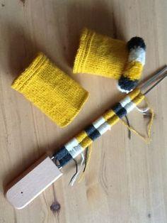 """När jag var på StickaGillet i Alsta Trädgårdar för en dryg månad sedan fick prova på att göra kavelfrans med en """"gaffel"""" som man l..."""