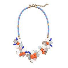 J.Crew - Stone mix necklace
