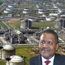 Government Hopes On Dangote Refinery To End Fuel Import.