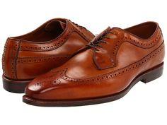 Allen-Edmonds Larchmont (Walnut Burnished Leather) Men's Lace Up Wing Tip Shoes Men's Shoes, Dress Shoes, Footwear Shoes, Allen Edmonds, Dapper, Leather Men, Derby, Oxford Shoes, Lace Up