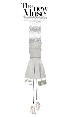 """""""Silver"""" by supercalifragilistica ❤ liked on Polyvore featuring Alice + Olivia, Carvela, Marchesa, Givenchy, RTR Bridal Accessories and Susan Caplan Vintage"""