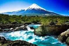 Saltos del petrohue, Chile
