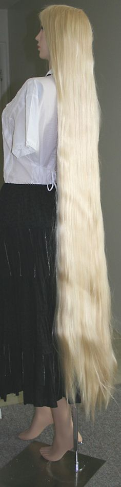 Rapunzel wig, buy 2 and use wefts from one and put onto the other, then braid!