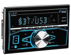 Boss Audio Systems 850BRGB Boss Audio Bluetooth Double Din MP3 CD Am/FM Receiver. For product info go to:  https://www.caraccessoriesonlinemarket.com/boss-audio-systems-850brgb-boss-audio-bluetooth-double-din-mp3-cd-amfm-receiver/
