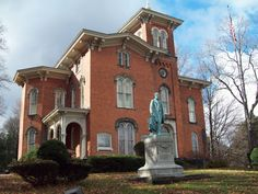 NY Jamestown Gov. Reuben Fenton Mansion