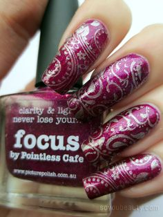 Dashica SdP-A over Picture Polish Focus