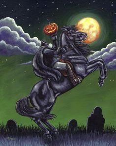 Headless Horseman of Sleepy Hollow Halloween Cemetery