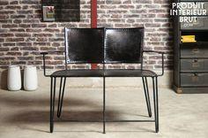 Para largos momentos con esa persona especial, ¡una silla vintage absolutamente original!