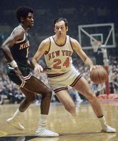 "Bill Bradley - Sweetest corner jumpshot ever.  ""Nah, he'll never be president.  He's too honest.""  Prescient words..."