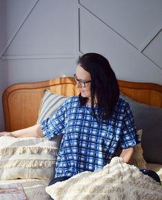 Domowa bluzka uszyta z wykroju Burda 04/2019 model 108 Burda Patterns, Blouse, Model, Tops, Fashion, Moda, La Mode, Scale Model