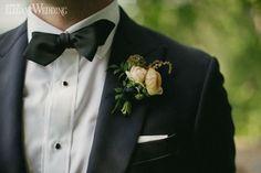 Natural boutonniere, wedding boutonniere, groom WHIMSICAL SUMMER WEDDING IN ONTARIO www.elegantwedding.ca