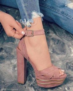 Very Cute Fall Shoes. These Shoes Will Look Good With Any Outfit. 30 Surprisingly Cute Street Style Shoes To Copy Today – Very Cute Fall Shoes. These Shoes Will Look Good With Any Outfit. Fancy Shoes, Pretty Shoes, Crazy Shoes, Beautiful Shoes, Cute Shoes, Me Too Shoes, Lace Up Heels, Strap Heels, Pumps Heels