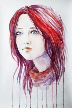 Red hair by sashajoe.deviantart.com on @deviantART