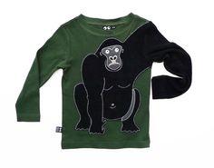 UBANG gorilla arm shirt.  Why doesn't anyone import these?