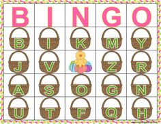 Practice letter sounds and identification with this fun Easter letter bingo game! Use Jelly beans as markers and save extra for snacking! Easter bingo, letter bingo, Spring party bingo, Spring bingo, Spring letter practice, letter sound correspondence, letter ID, letter sounds, bingo, literacy games, Springs games, Easter literacy centers, Easter phonics, alphabet games, letter games. Sight Word Bingo, Sight Word Practice, Sight Word Activities, Letter Games, Alphabet Games, Literacy Games, Literacy Centers, Easter Bingo, Correspondence Letter