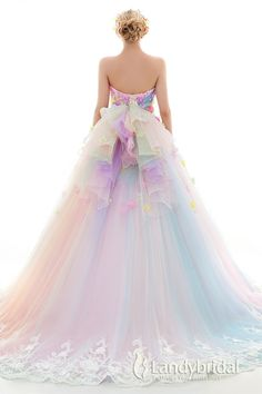 Pastel Colorful Dress