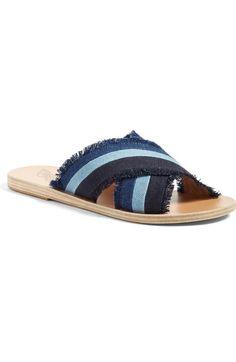b5c2a9d40 ANCIENT GREEK SANDALS Thais Slide Sandal (Women).  ancientgreeksandals   shoes  sandals