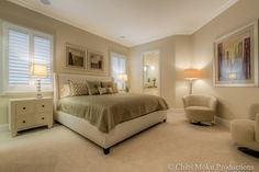 *Jones Clayton Construction - Walt Disney Golden Oak Resort - Orlando, Floria modern #bedroom #masterbedroom #palette #ideas