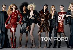 TOM FORD WOMENSWEAR AUTUMN/WINTER 2014