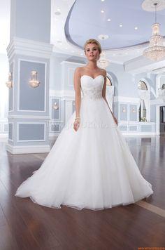Klassische Herz-Ausschnitt Princess-stil Hochzeitskleider aus Organza
