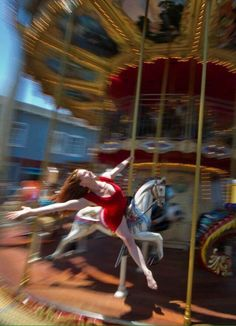 "San Francisco - Sharon Gallagher Photographer Jordan Matter's wonderful photo series of dancers posing in everyday locations, ""Dancers Among Us."" The series is now a photo book: Dancers Among Us: Photography Series, Photography Projects, Dance Photography, Urban Photography, Color Photography, Portrait Photography, Dancers Among Us, San Francisco, Little Girl Dancing"