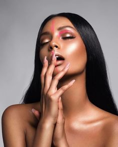20 Makeup Tips for Black Women to Look Fabulous All the Time Model Poses Photography, Beauty Photography, Fashion Makeup Photography, Make Up Looks, Makeup Tips, Beauty Makeup, Hair Beauty, Makeup Geek, Makeup Ideas