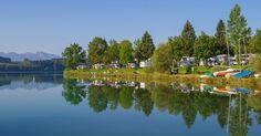 Die schönsten Campingplätze an Deutschlands Seen T5 California, Caravan Hacks, Germany Travel, Campsite, Camping Hacks, Places To Go, Dolores Park, Activities, Holiday