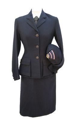 1940s Vintage Red Cross Ladies Uniform 2
