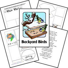 FREE Backyard Birds Lap ~n~ Note