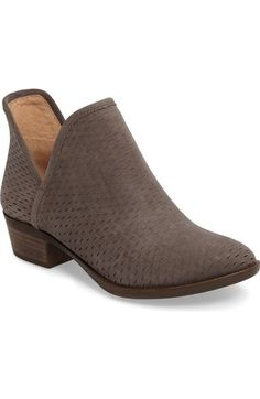 Lucky Brand 'Bashina' Perforated Bootie (Women) available at #Nordstrom