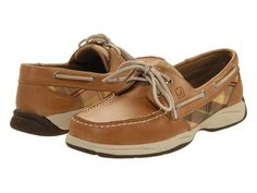 sperry intrepids in sun plaid.  I have these with turquoise plaid. Comfy bliss!