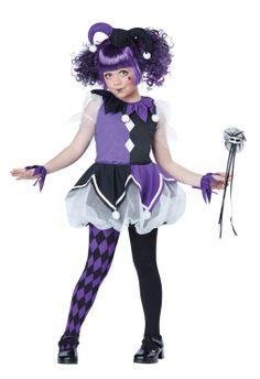 Jester #clown #jester #children #cutie #purple #black