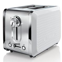Bella Dots 2-Slice Toaster - White