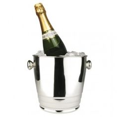 """Buy Heavy Weight Stainless Steel Wine / Champagne Bucket, 4 Qt for $17.86 from CookingIdeal.• 8-1/4"""" Opening. • Mirror finish.. Shop wholesale restaurant supplies at CookingIdeal, guarantee low price, fast shipping, and best service."""