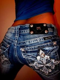 Miss Me Jeans! by Anissa Michelle Red