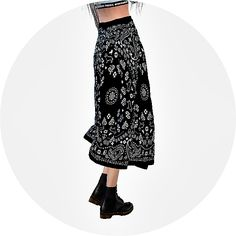 Sims 4 CC's - The Best: Long Flared Skirts by Sims 4 Marigold