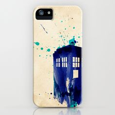 Doctor Who TARDIS Rustic iPhone Case