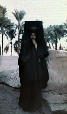 Autochromes taken by Gervais Courtellemont and W. Robert Moore for National Geographic. 1920's Egypt