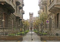 Torino: un cortile di Via Susa