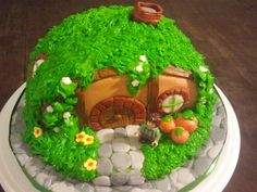 Hobbit House Birthday Cake