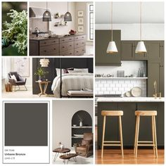 2021 Color of the Year :: Sherwin-Williams Urbane Bronze   Krayl Funch Urbane Bronze Sherwin Williams, Interior Paint Colors, Interior Design, Color Of The Year, Home Accents, Color Inspiration, Living Room Decor, New Homes, Earth Tones