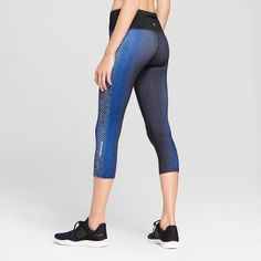 963013a20b8d5 Women s Embrace Run Mid-Rise Capri Leggings - Champion® Imperial Indigo XXL