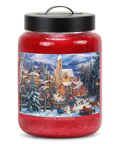 Chuck Pinson Winter Splendor Candle Jar by Goose Creek Candles #zulily #zulilyfinds