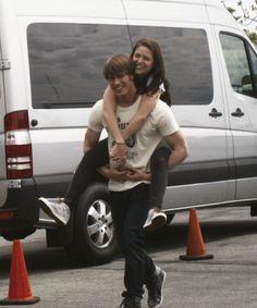 Melissa Benoist & Blake Jenner