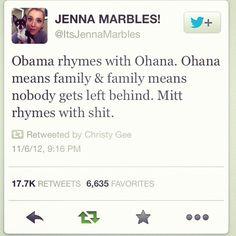 Oh Jenna, lol