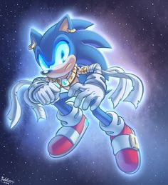 Sonic - Ghosts of the Future by SailorMoonAndSonicX.deviantart.com on @DeviantArt