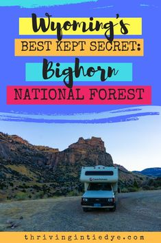 If you're planning a trip to Wyoming - set aside some time for Bighorn National Forest. It's as beautiful as a national park but free and without the crowds! This guide provides everything you need: free camping adventures to go on and where to eat/drink! Talladega National Forest, Manistee National Forest, Monongahela National Forest, Wyoming Vacation, Wyoming Camping, Us Road Trip, Best Kept Secret, Travel Information, Plan Your Trip