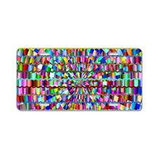 Decorative Colors Aluminum License Plate
