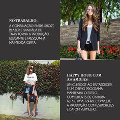 Shorts jeans - maneiras de usar  http://www.canelladolovers.com.br/